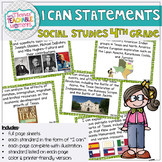 I Can Statements 4th Grade TEKS SOCIAL STUDIES