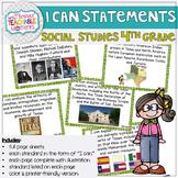 4th Grade TEKS I Can Statements SOCIAL STUDIES
