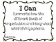 I Can Statements- 7th grade science