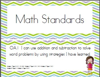 """""""I Can"""" Statements Aligned with EngageNY Math First Grade Half Sheets"""