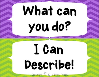 I Can Statements Bulletin Board Decoration-FREEBIE!