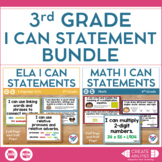 I Can Statements Bundle 3rd Grade