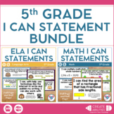 I Can Statements Bundle 5th Grade