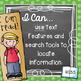 I Can Statements {Editable} - 3rd Grade ELA  - Chalkboard & Polka Dot