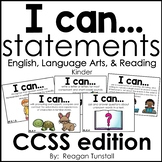 I Can Statements English Language Arts and Reading CCSS ed