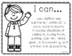 I Can Statements First Grade Math