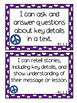 I Can Statements For First Grade- Peace 70's Theme
