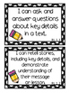 I Can Statements For First Grade- Pencil Theme