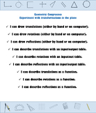 """""""I Can"""" Statements - High School Geometry CCSS Posters"""