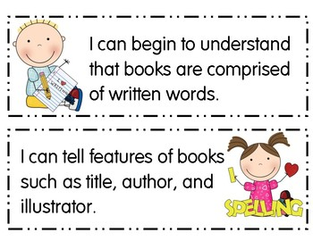 I Can Statements Indiana Early Learning Foundations
