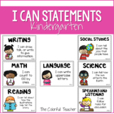 I Can Statements for Kindergarten: Editable