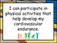 I Can Statements Kindergarten Daily Physical Activity British Columbia