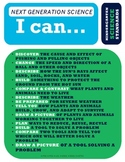 """NGSS """"All-in-One"""" Poster - Kindergarten - Next Generation Science - """"I Can..."""""""