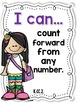 I Can Statements -- Learning Targets for Kindergarten MATH