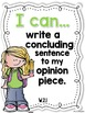 I Can Statements -- Learning Targets for Second Grade ELA
