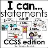 I Can Statements Math CCSS edition First Grade