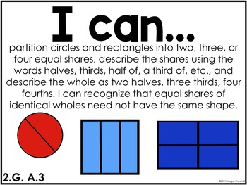 I Can Statements Math CCSS edition Second Grade