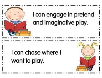 Preschool I Can Statements New York Part 2