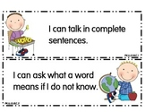 Preschool I Can Statements Ohio
