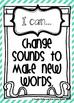 I Can Statements: Phonemic Awareness & Phonics Skills