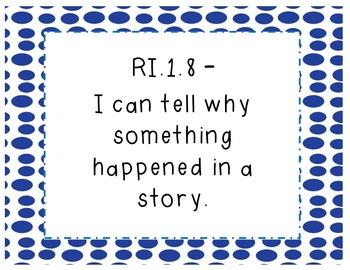 I Can Statements- Polka Dot