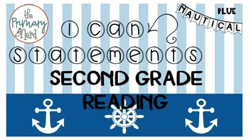 I Can Statements Reading-Nautical