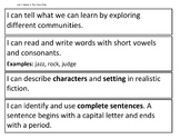 I Can Statements - Reading Street, Grade 2, Unit 1