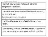 I Can Statements - Reading Street, Grade 2, Unit 2