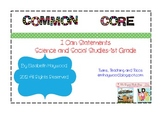 I Can Statements-Science and Social Studies-1st Grade