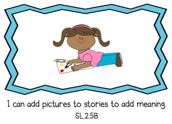 I Can Statements - Second Grade - English Language Arts