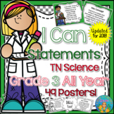 I Can Statements Science (NGSS) Grade 3 All Year