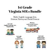 """I Can"" Statements - Virginia SOLs Math, ELA, Science, & S"