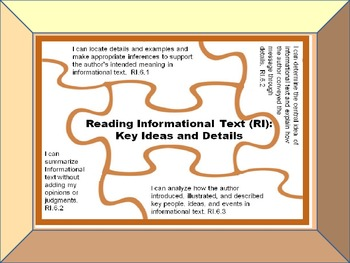 """""""I Can"""" Statements and Engaging Activities for Common Core Standards"""