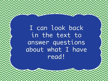 I Can Statements for 3rd Grade ELA Common Core