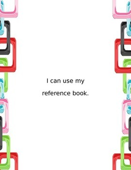 I Can Statements for 4th Grade - Links in Bright Colors