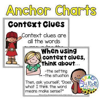 Context Clues Task Cards for Grades 3-5