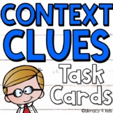 Context Clues Task Cards (Using Poetry Excerpts)