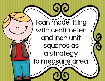 I Can Statements for Engage NY Module 4