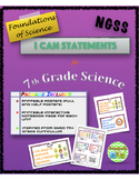 I Can Statements for Foundations of Science