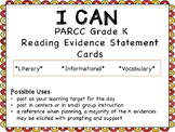 I Can Statements for Kindergarten