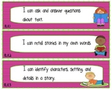 """I Can"" Statements for Kindergarten Common Core English Language Arts"
