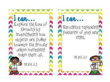 I Can Statements for Science & Social Studies (Perfect for IKEA Tolsby Frame)