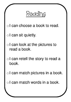 I Can Statements for Special  Education