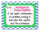 I Can Statements for Texas 5th Grade Mathematics
