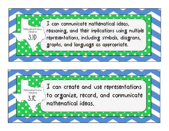 I Can Statements for Texas Third Grade Mathematics