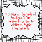 """I Can"" Statements for Writing from Georgia Standards of E"
