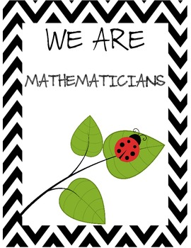 I Can Chpt Objectives 2nd Grade Singapore 2013 Math in Focus® BlackWhite Ladybug