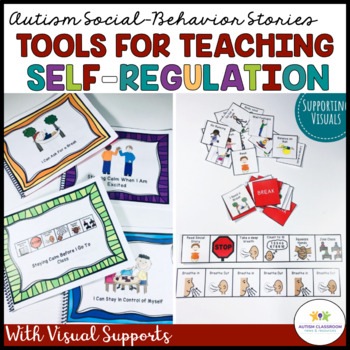 Social Stories and Visual Supports for Autism & Special Ed: I Can Stay Calm