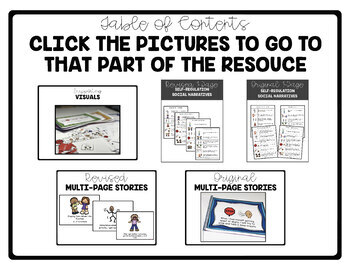 Calm Down Tools: Social Stories and Visual Supports for Self-Regulation
