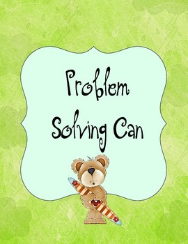 Problem solving sticks set